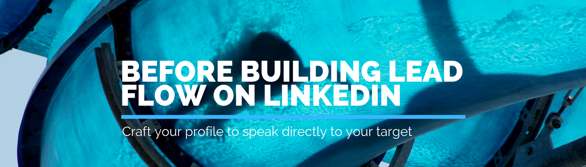 Before Building Lead Flow on Linkedin | Andrew Abel | Advisio