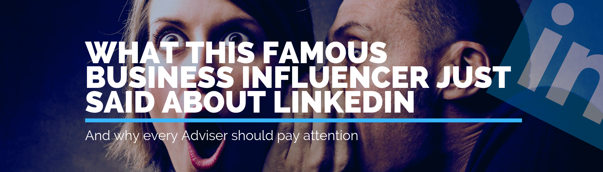 What This Famous Business Infleuncer Just Said About Linkedin | Andrew Abel | Advisio