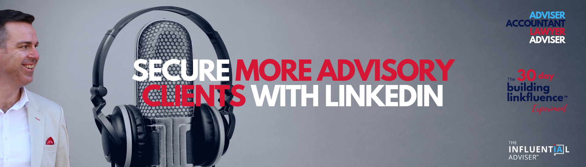 More advisory clients with Linkedin